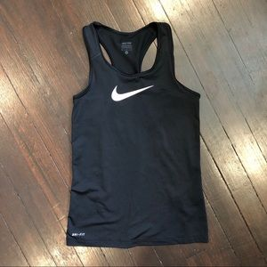 ⚡️4 for $30 - Black Nike Pro Racerback Tank